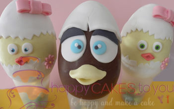 Tutorial Cake Design: Uova di Pasqua Decorate