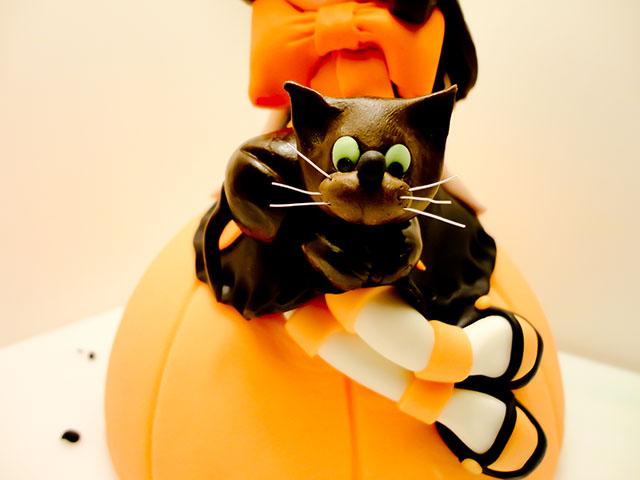 Posizionare il Gattino sulla Torta