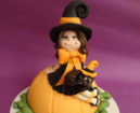 Tutorial Cake Design: Torta di Halloween