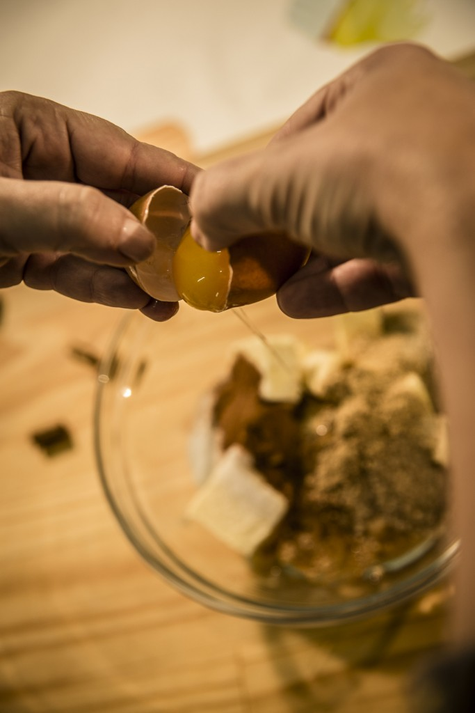 Aggiungere un Uovo agli altri Ingredienti