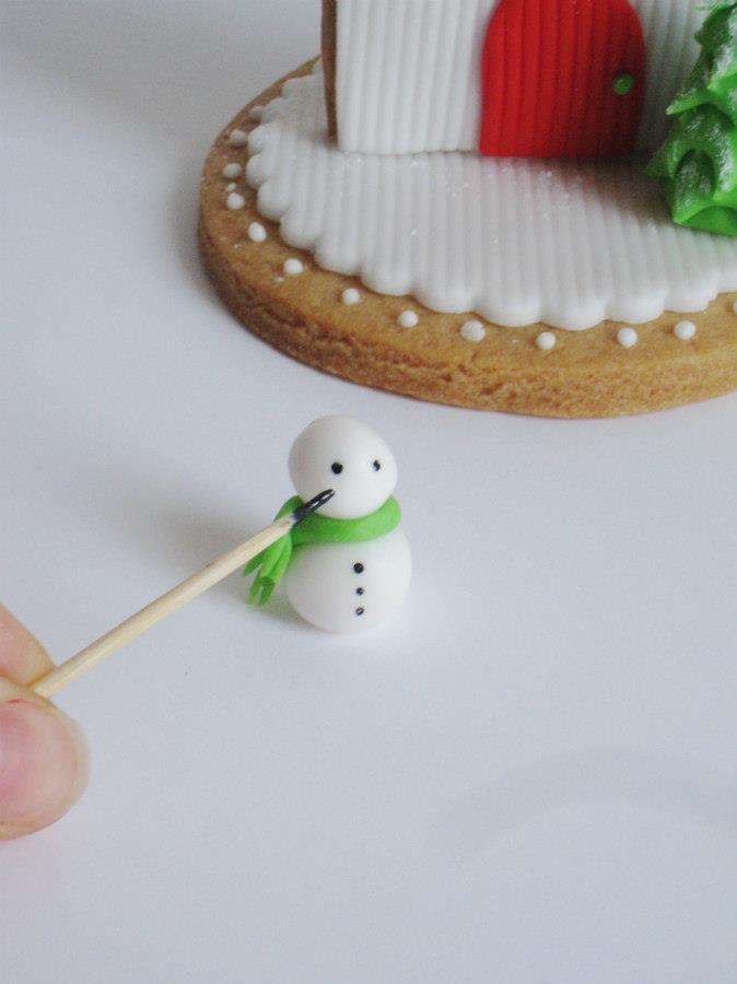 Montare il Pupazzo di Neve
