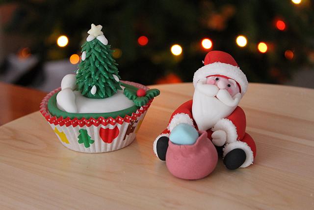 Tutorial Babbo Natale In Pasta Di Zucchero Happy Cakes