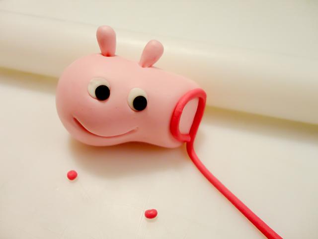 Completare il Viso di Peppa Pig