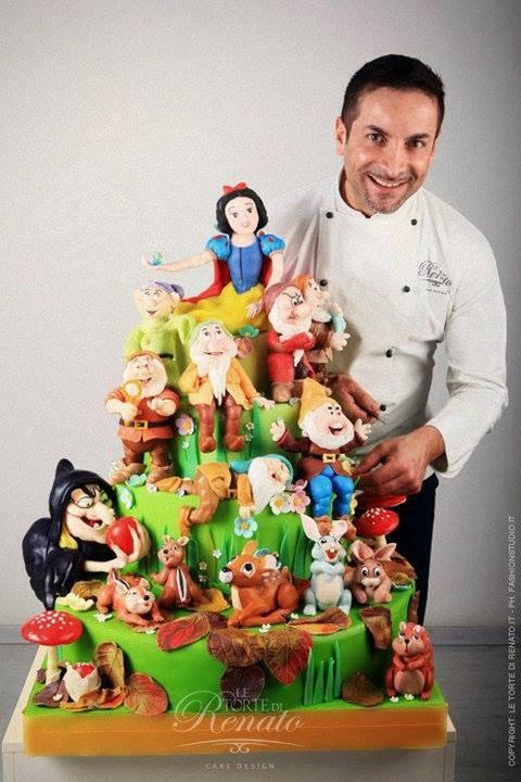 Il Cake Design con gli Occhi degli Uomini