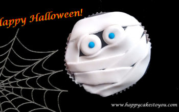 Tutorial Cake Design: Cupcakes di Halloween