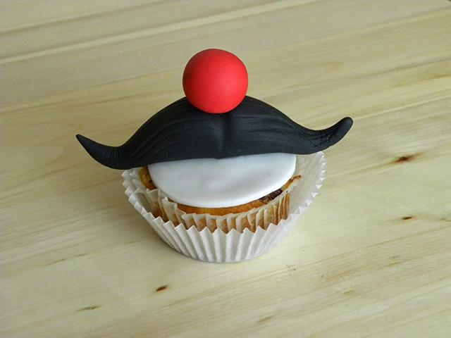 Cupcake con i Baffi per la Festa del Papà