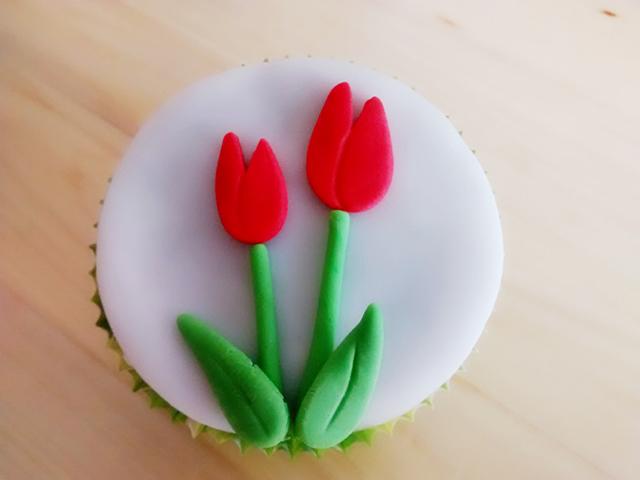 Tulipani in Pasta di Zucchero per la Festa della Mamma!