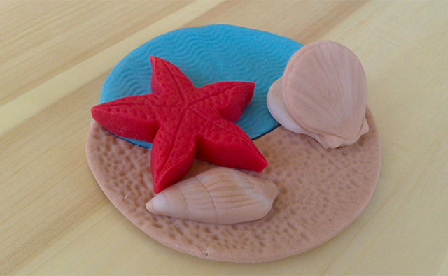 Cake Design: Cupcake con Stella Marina