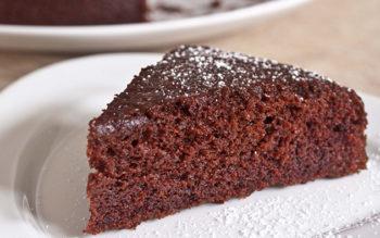 Torta al Cioccolato Senza Glutine e Senza Lattosio