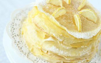 Torta di Crepes al Limone