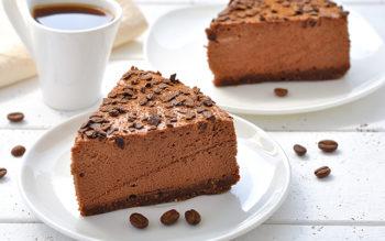 Cheesecake con Mousse al Caffè