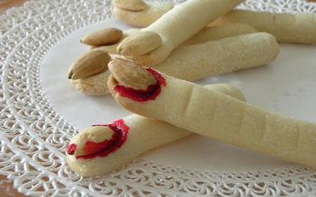 Biscotti di Halloween: le Dita della Stregha