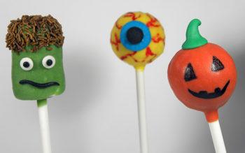 Cake Pops di Halloween: Frankenstein