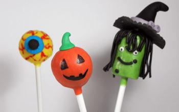 Cake Pops di Halloween: la Zucca