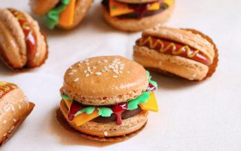 Macarons Hamburger