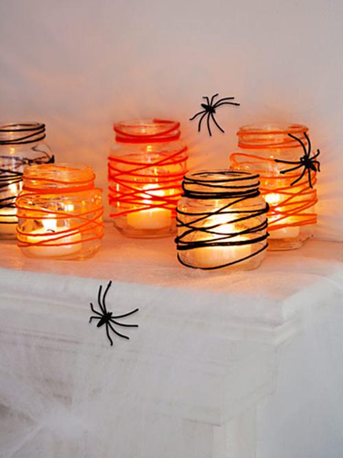 Speciale Halloween 10 Idee per Arredare Casa Candele Originali
