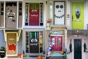 Speciale Halloween 10 Idee per Arredare Casa-Come Decorare la Porta di Casa per Halloween