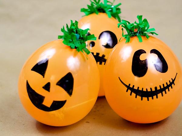 Speciale Halloween 10 Idee per Arredare Casa Palloncini di Zucche