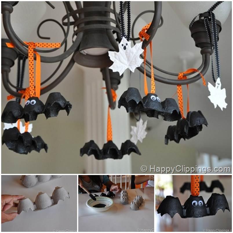 Speciale Halloween 10 Idee per Arredare Casa Pipistrelli da Appendere