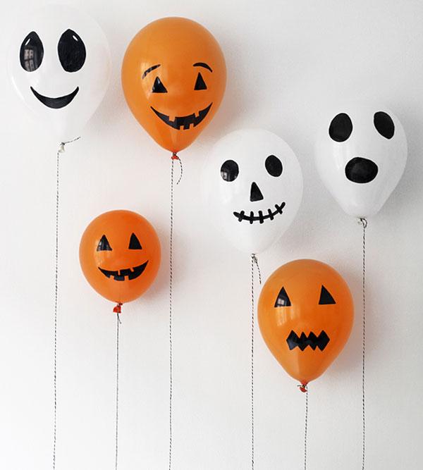 Speciale Halloween 10 Idee per Arredare Casa Simpatici Palloncini