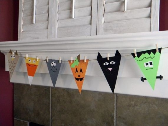 Speciale Halloween 10 Idee per Arredare CasaBandierine