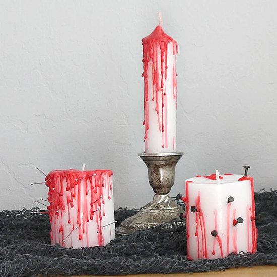 Speciale Halloween 10 Idee per Arredare CasaCandele Chiodate