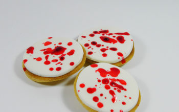 Tutorial di Halloween: Biscotti Insanguinati