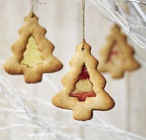 Biscotti di Vetro Natalizi da Appendere all'Albero di Natale