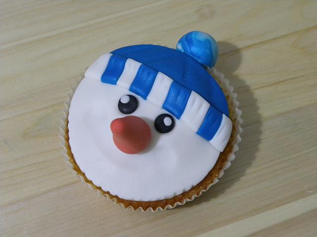 Tutorial di Natale: Cupcake Pupazzo di Neve-Modellare il Naso del Pupazzo di Neve