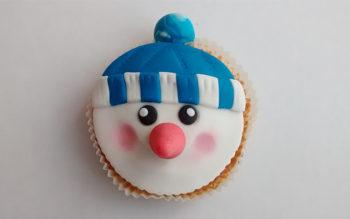 Tutorial di Natale: Cupcake Pupazzo di Neve