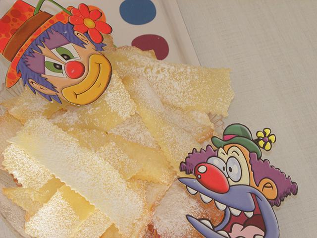 Frappe di Carnevale Senza Glutine e Lattosio-