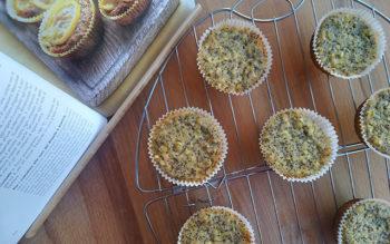 Cupcakes al Limone e Semi di Papavero